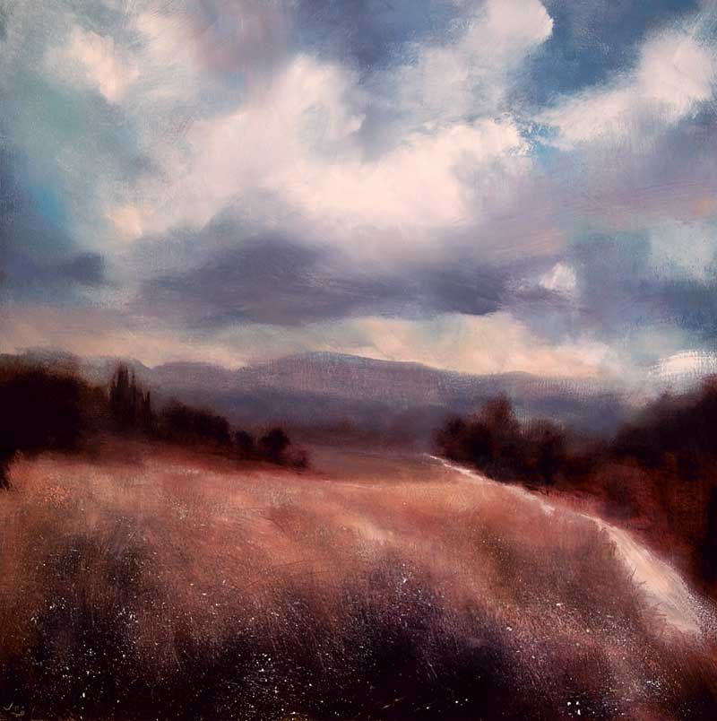 Approaching Rain Provence - John O'Grady Artist