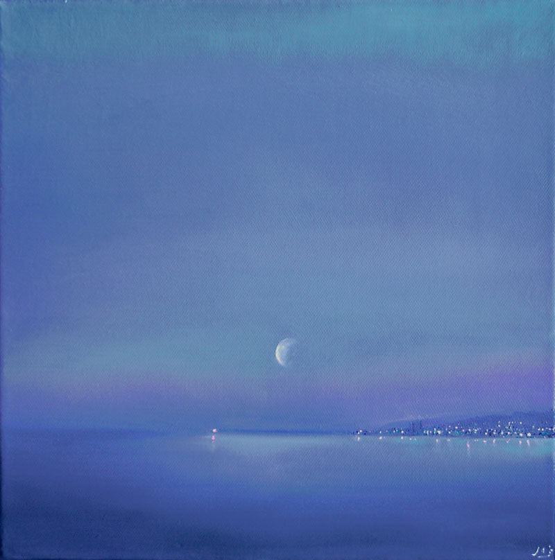 John O'Grady Art-The Blue Hour II