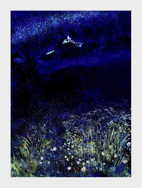 A nocturne on a warm starry night in Provence
