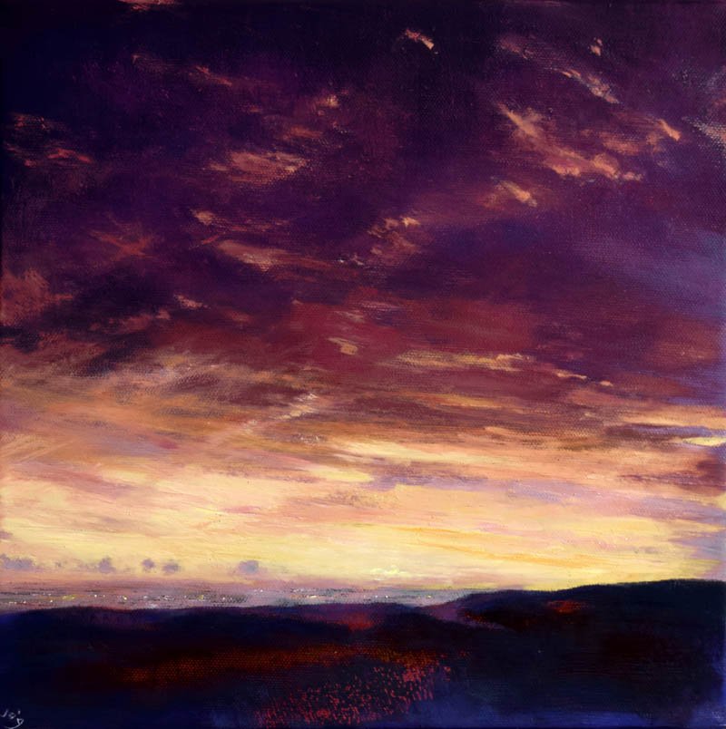 Autumnal Sunset in Wicklow John O'Grady