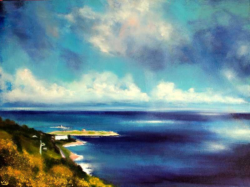 View of Killiney Bay from Killiney Hill