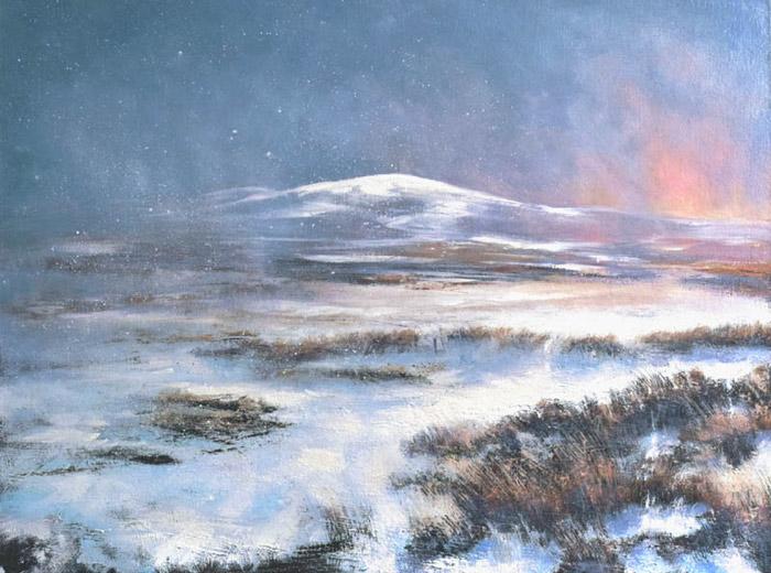 Winter on Mount Kippure II #281
