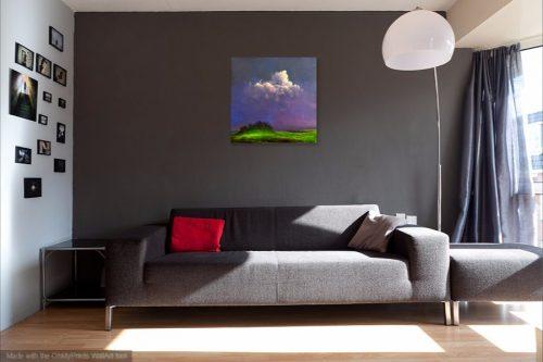 The Fairy Rath V by john O'Grady in a living room