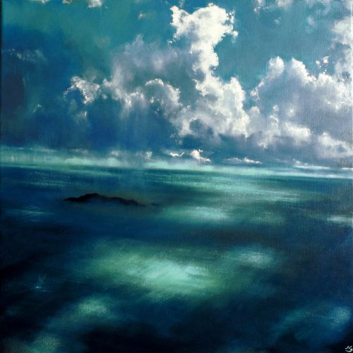 John O'Grady Art Take Me to the Island XIII
