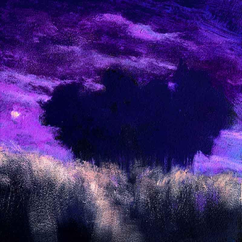 John O'Grady Art-Au Clair de Lune I