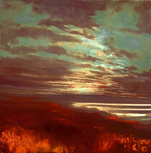 John O'Grady Art - You Are Everything VIII | A dream-like sunset looking towards the sea