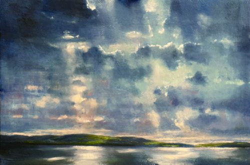 John O' Grady Art-Light on Water V | quiet Irish seascape