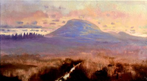 John O Grady Art - Land Marks IV | soft morning on the Irish bog