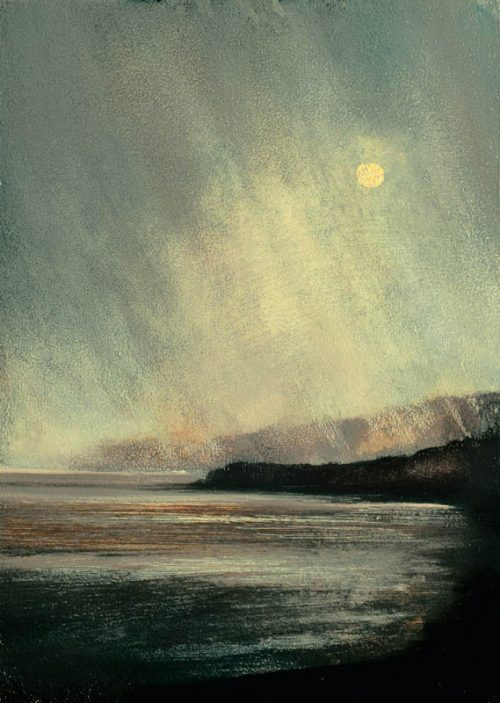 john ogrady art - Where the Veil is Thin II - A rainy day in the west of Ireland