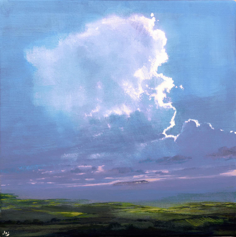John O'Grady Art - Evening light in the west coast of Ireland