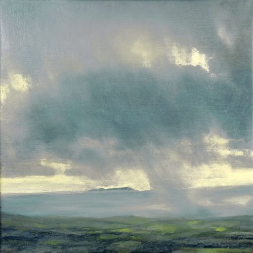 John O Grady Art-morning light Rain on the west coast of Ireland