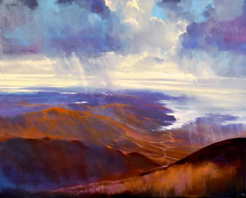 As Far as the Eye Can See V by John O'Grady | Scenic seascape of the West of Ireland coast