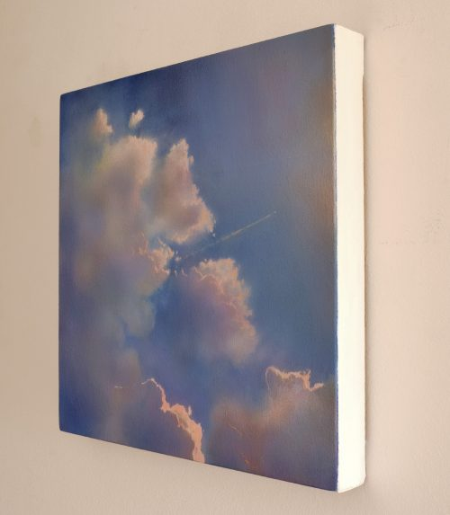 Icarus II by John O'Grady | A side view of the atmospheric cloudscape